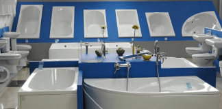 Shower or Bathtub which sanitary ware items are important in the washroom?
