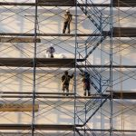 How does scaffolding help construction