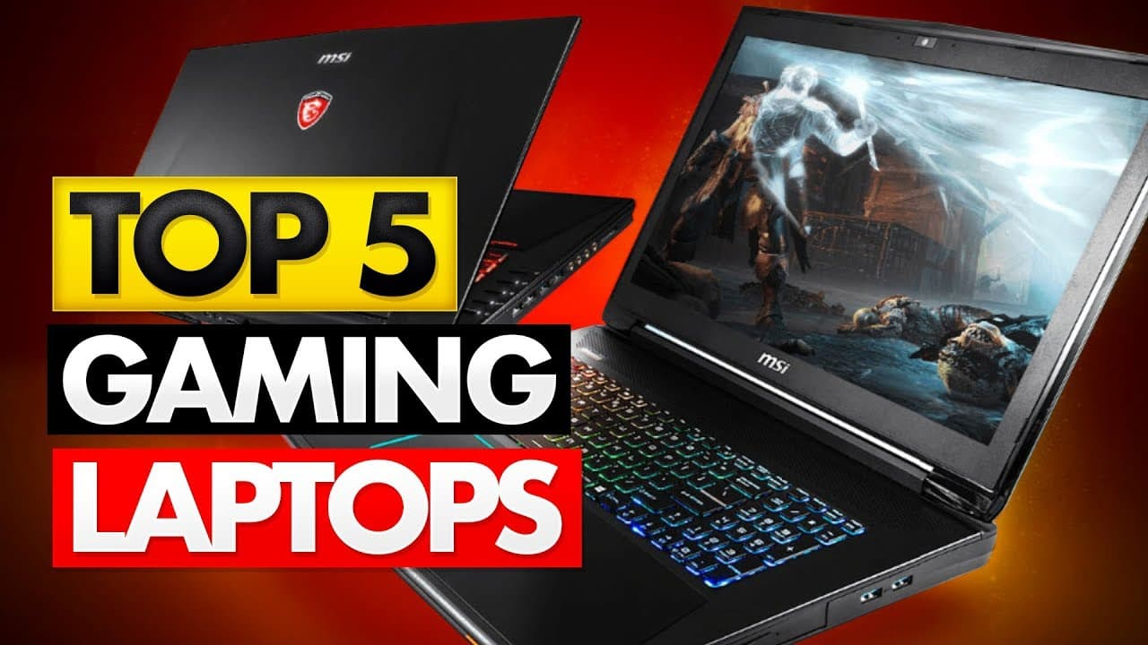 Here Are The Best 5 Laptops For Gaming