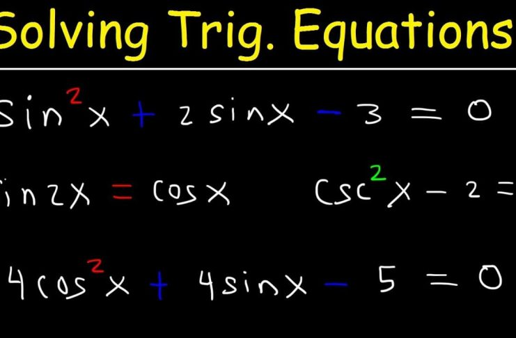 How to Evaluate Different Problems of Trigonometry Formulas and Functions of Trigonometry