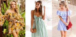 How to Style a White Off-the-Shoulder Dress